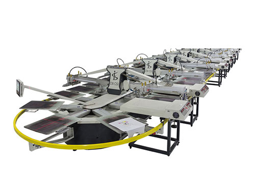 SPO Automatic Oval Screen Printing Machine